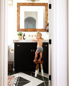 Celery tile, Modern bathroom, baby boy, lifestyle photography, interior design, Kaila Walls