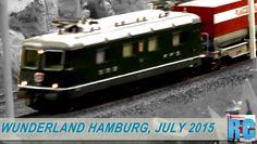 "BEST OF ""MINIATUR WUNDERLAND"" HAMBURG, GERMANY - JULY 2015"