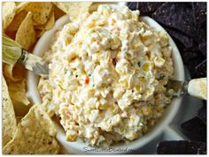 FIESTA CORN SALSA - This is an appetizer that gets devoured! Serve with your favorite tortilla chips or Fritos.