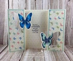 addINKtive designs: The Stamp Review Crew - Watercolor Wings