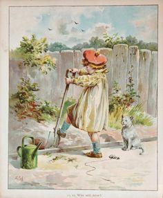 E. Stuart-Hardy Ernest Nister Victorian Print by PaperPopinjay
