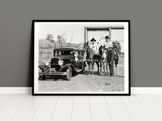 Vintage Pendleton Round Up Rodeo Photo, Print from original 1929 negative, Rodeo Queen, Chrysler 77, Cowboy Wall Art, Round Up President Pendleton Round Up, Night Show, Rodeo Queen, Fine Art Prints, The Past, Poses, Wall Art, The Originals, Etsy
