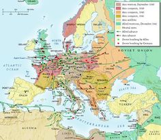 World War 2 European Theater | ... Operations Of World War Two In Both