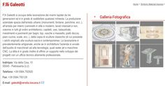 F.lli Galeotti, lavorazione marmi, Pietrasanta.
