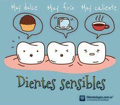 El dilema de los dientes sensibles #OdontólogosCol #Odontólogos