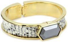 "KARA by Kara Ross ""Classic"" Narrow Hexagon Cuff Bracelet, Ring Lizard and Hematite KARA by Kara Ross,http://www.amazon.com/dp/B005Q4OL32/ref=cm_sw_r_pi_dp_GVcysb04S4GBHTXR"