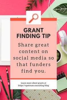 Use social media to share all your nonprofit successes. You never know what funding opportunities this may present! Click through to read more tips for using social media to find and win grants. Grant Proposal Writing, Grant Writing, Writing Tips, Business Grants, Business Writing, Fund Raiser, Nonprofit Fundraising, Social Media Branding, Business Motivation