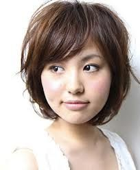 short hair for fat faces - Google Search