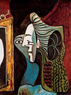 Pablo Picasso - Woman Before the Mirror, 1948