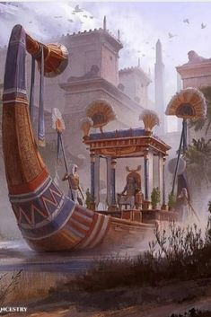 Ancient Egyptian Architecture, Ancient Egyptian Art, Ancient History, Dark Artwork, Egyptian Pharaohs, Fantasy Art Landscapes, Nile River, Pyramids Of Giza, Ancient Beauty