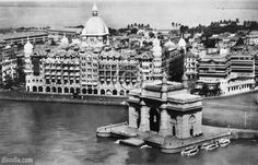 photos of India   Vintage Bombay >> Gateway of India ; Old Bombay ; India