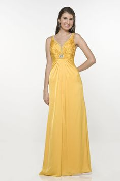 Cambered Neckline Appliques Strone Pin Backless Straps Floor Length Evening Dress