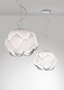 Fabbian. Cloudy by Mathieu Lehanneur is nominated to win the IF Design Award 2014.