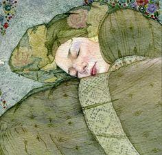 Sleeping woman. by Masha Kurbatova.