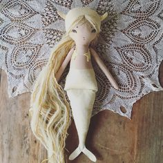 Image of White Gold Mermaid