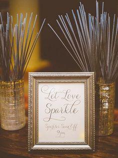 sparkler send off for the bride and groom - brides of adelaide