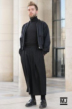 newmalefashion: Street Scene: Skirts