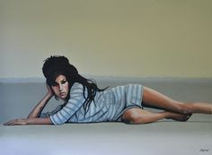 'Amy Winehouse Rehab painting' by Paul Meijering on artflakes.com as poster or art print $20.79