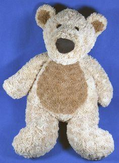"Toys R Us Large 23"" Tan & Brown Plush Teddy Bear Big Soft Stuffed Animal 2013 #ToysRUs"