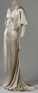 1930s Madeleine Vionnet gown