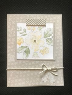 Tic Tac Toe-straight across the middle-Mink/Saffron/New England Ivy-all second generation. MIFYH 3 pattern Bunches of Love-paper from Grateful Heart including zip strip-Mink twine & ink.I just LOVE the softness of this card. Love Stamps, Grateful Heart, Invite Your Friends, Close To My Heart, Homemade Cards, Dares, Challenge Cards, Decorative Boxes, Card Making