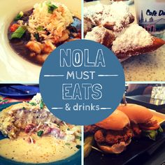 A Foodie's Guide to New Orleans - All of our stops on our girls weekend in NOLA! A foodie's guide to New Orleans travel. Here's where to eat in New Orleans, from dishes to drinks to the best restaurants in the French Quarter and beyond. New Orleans Vacation, New Orleans Travel, Nola Vacation, Vacation Places, Vacation Destinations, New Orleans Brunch, Weekend In New Orleans, Cruise Vacation, Mardi Gras