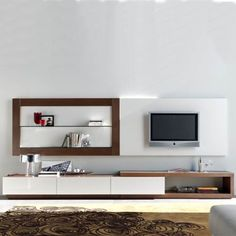 furniture for TV design for living room decoration Wall Tv Stand, Modern Tv Wall Units, Muebles Living, Tv Wall Decor, Tv Unit Design, Entertainment Furniture, Living Room Tv, Design Moderne, Living Room Designs