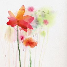 Find Flowers Watercolor Background stock images in HD and millions of other royalty-free stock photos, illustrations and vectors in the Shutterstock collection. Watercolor Background, Watercolour Painting, Floral Watercolor, Beautiful Flowers Pictures, Flower Pictures, Spring Is Here, Paintings For Sale, Large Prints, Textured Background