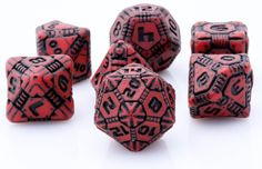 Tech Dice (Red-Black) are ready for out of this world adventure, and are on sale now at Dark Elf Dice! Take your RPG adventures to new heights with these scifi inspired game dice. Dice Bag, Dark Elf, Character Costumes, Gremlins, Dungeons And Dragons, Game Art, Geek Stuff, Red Black, Playing Games