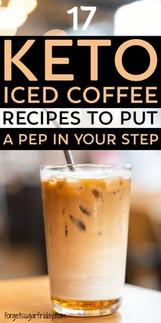 DIVINE keto iced coffee recipes to try! If you want to put a serious pep in your step before your keto breakfast (or in place of your keto breakfast!), give these 17 delicious keto iced coffee recipes a try. I've included iced keto Starbucks drinks (like Helado Keto, Keto Eis, Iced Coffee Drinks, Starbucks Drinks, Coffee Coffee, Diet Coffee, Coffee Creamer, Low Carb Keto, Low Carb Recipes