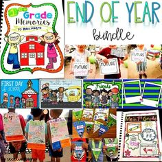 This 1,222 page bundle is what you need for the end of the school year in the primary grades. It includes a memory book, an end of year slideshow, photo props for the end of the year, end of the year awards, and end of year superheroes, an engaging, positive end of the year