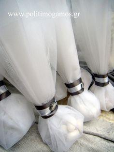 μπομπονιερες Just Married, Wedding Favors, Decor, Wedding Keepsakes, Wedding Favours, Decorating, Dekoration, Favors, Deco