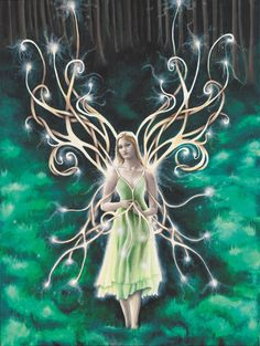 Faerie Dust 8X10 matted print by KareliKairos on Etsy, $15.00
