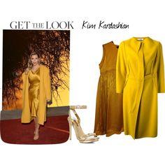 """Get The Look - Kim Kardashian"" by reneeward400 on Polyvore"