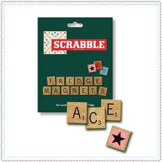 "Aimants ""Scrabble"""