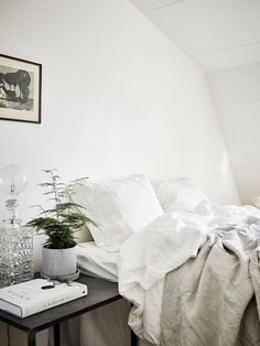 my scandinavian home Scandinavian style grey interior, bedroom, interior style Scandi Home Bedroom, Bedroom Decor, Calm Bedroom, Bedroom Ideas, Winter Bedroom, Bedroom Rustic, Scandinavian Bedroom, Scandinavian Style, Up House