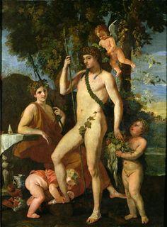 Bacchus, Nicolas Poussin