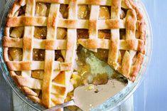 Granny's apple pie aneb babiččin jablečný koláč Czech Recipes, Apple Pie, Sweet Recipes, Waffles, Yummy Food, Baking, Breakfast, Cake, Kitchen