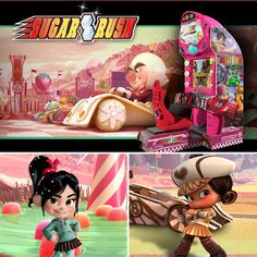 Sugar Rush-Wreck-It Ralph