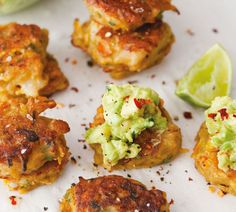 Spicy Seafood Fritters