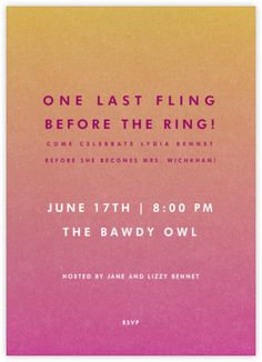 221 best bridal shower invitations images on pinterest bridal custom bachelorette party invitations from paperless post available online and on paper filmwisefo