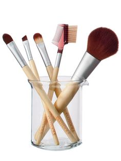 Eco Tools Make Up Brushes - InStyle Best Beauty Buys 2013 Winner. I am obsessed with my set of these cruelty-free make up brushes. Eco Tools is certified by PETA. -MJ