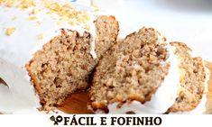 BOLO DE NOZES FÁCIL RECEITAS QUE AMO Carne, Bacon, Walnut Cake, Deep Frying, Butter, Salads, Carmelized Onions, Salt N Pepper