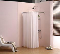 GÖmmaren Universal Shower Curtain Rod Ikea Eeking Out A Master Bath Pinterest Rods Bathroom Curtains And Kid Bathrooms