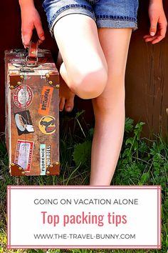 Going on vacation alone? In this travel blog post, I put together the best travel packing hacks and tricks to help you stay organized and save space on your next solo trip! Over the years, I have gotten pretty good at packing and wanted to share my travel packing hacks with you! So click on the pin if you also want to pack like a pro the next time you're going on vacation alone!#Solotravel #travelalone #travelbunny #packing