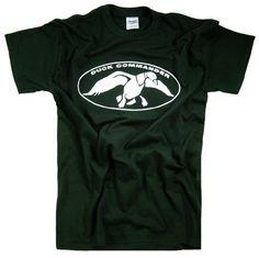 Duck Commander Logo Black T-shirt | I Wear T-shirts
