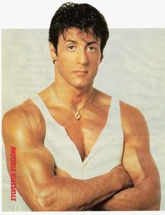 "Sylvester Stallone Before he was Rocky, Sylvester Stallone got his start in acting in a 1970 porn film called ""Party . Famous Men, Famous Celebrities, Celebs, Famous People, John Rambo, Stallone Rocky, Bodybuilding Supplements, Bodybuilding Fitness, Rocky Balboa"