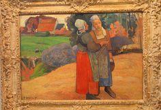 Paul GAUGIN, annes bretonnes, en 1894   musee d'osey