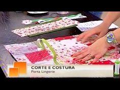 Porta-Lingerie Parte 2 - Costura com Riera Alta - YouTube