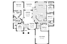 Mediterranean House Plan chp-55045 at COOLhouseplans.com